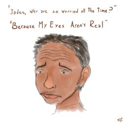Jaden Smith's Eyes Aren't Real by Angeldhan