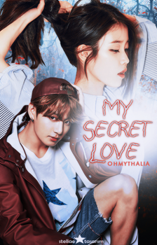 My Secret Love / Wattpad Book Cover 8 by sahlimamat