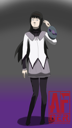 Willful Homura by AsFoxger