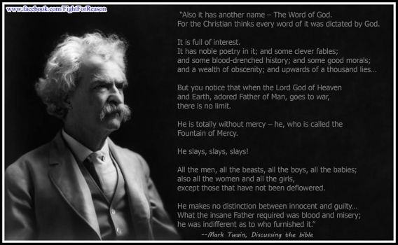 The ever indisputable Mark Twain by AAtheist