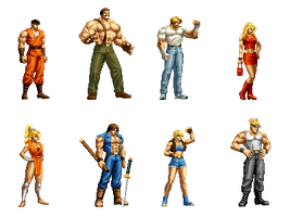Final Fight Collection by Street-Spriter