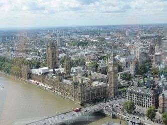 London from the top by pin-ki