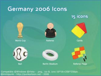 Germany 2006 World Cup Icons by mimipunk