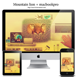macbook and mountion lion wps by sasa-92