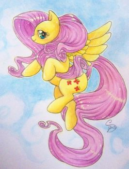Fluttershy by Liluri-Creations
