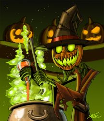 Halloween Cook by ThePsychoGoat
