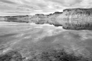 Flaming Gorge BW by Nestor2k