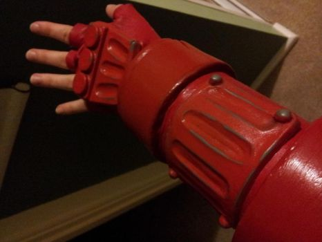 Cammy Gauntlet Plates Resin Cast by CosTrader