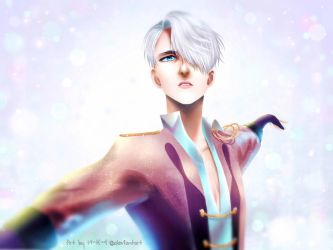 Viktor Nikiforov - Yuri!!! on Ice by M-K-1