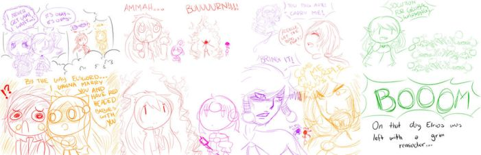 Elsword Stickman Madness by queen-val