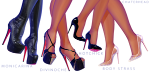 Louboutins MMD by chatterHEAD
