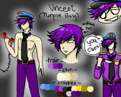 PURPLE GUY VINCENT (ANIME VERSION) by YaoiIsMyBet