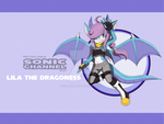 Lila Sonic Channel wallpaper  by KeyaraHedgehog09