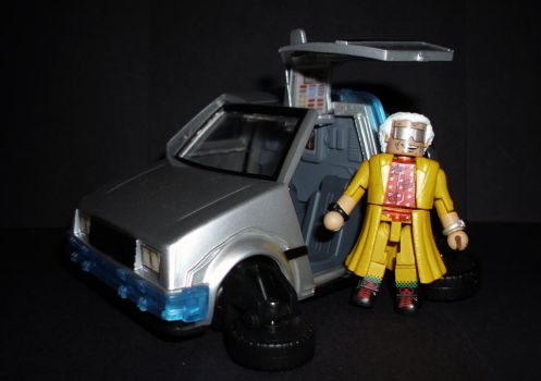 Minimates - Back To The Future by CyberDrone2-0
