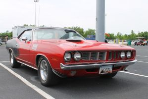 1971 Plymouth 'Cuda by Cherry-Man