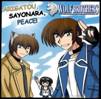 Wolf Brothers: Thank You by krystlekmy