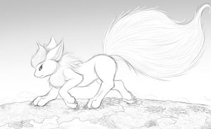 Megaevolution - Flareon by StampyDragon