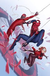 Scarlet Spiders #1 Cover by DNA-1