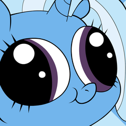 Trixie is watching you by EqDBot