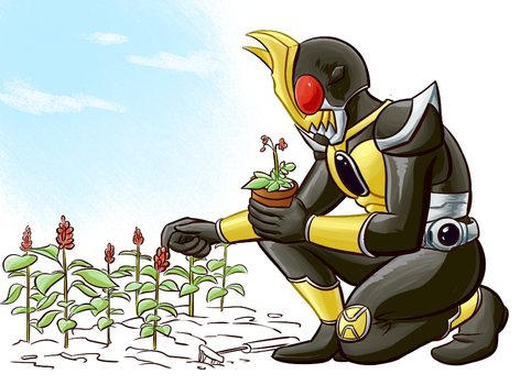 Agito doing what Agito does best by cannibal-sarracenian