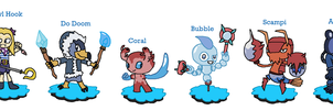 Skylanders Eris's League - Water by JoltikLover