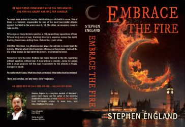 Embrace the Fire book cover by Louis-Lux