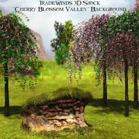 TW3D Blossom Valley by TW3DSTOCK