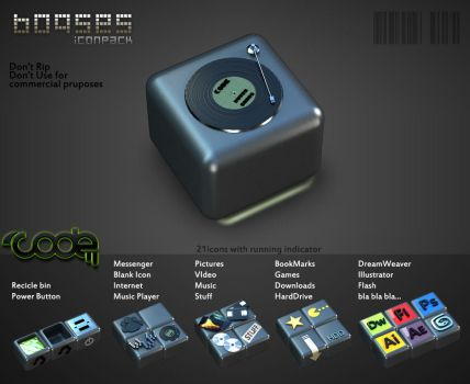 Boqses IconPack by codependent