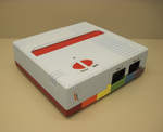Custom Painted 8-bit game console by NPCtendo