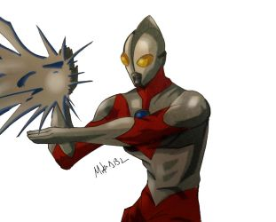 Ultraman by MikeES