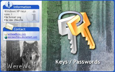 Windows XP Keys by werewolfdev