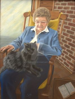 Aunt Lucille by MsTechArt