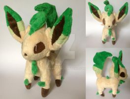Leafeon Plush by Pannsie