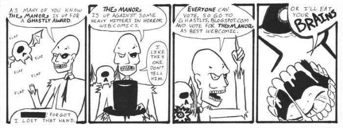 Ghastly Awards  2012 by Andy-Korty