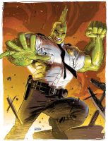 Savage dragon by DustinWeaver