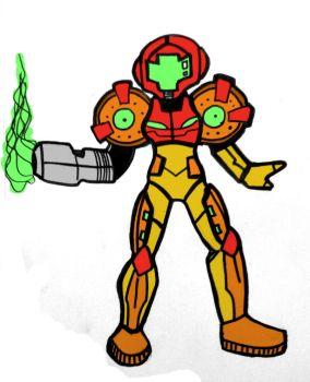 Metroid by edsonhcs