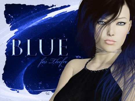 Blue- for Thefre by DesignsByEve