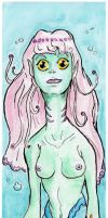 Bookmark 1 Mermaid 100 days 76bis by OcioProduction