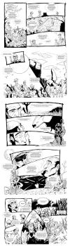 A Lenda dos Tres Caboclos (parte 3) by Wolf-Signs