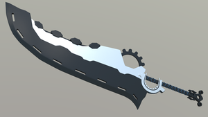 Clouds Knight sword second stage by Plateal