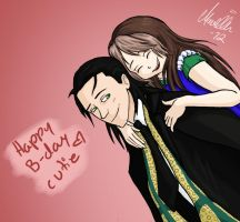 A birthday-date with Loki by MariaMisen