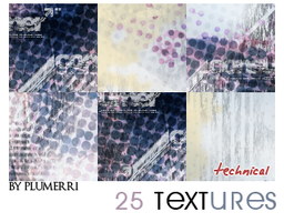25 Textures - Technical by plumerri