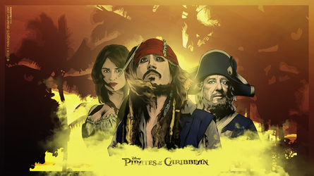 Pirates of the Caribbean Vector by MDesign25