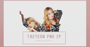 TaeYeon I Part2 2P PNG by vul3m3