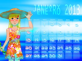 January 2013 by mushisan