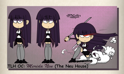 TLH OC: Merida Neu (The Neu House) Practice by BRSstarJV