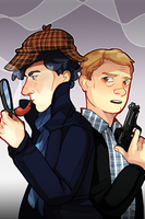 consulting detective and blogger by Myku