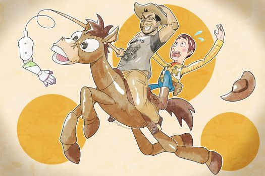 TOY STORY COMMISSION by Meg4mente