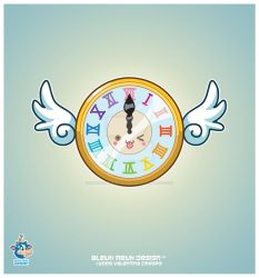 Kawaii Time Fly Clock 2009 by KawaiiUniverseStudio