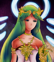 Palutena the Goddess of Light by SparklingAmphy